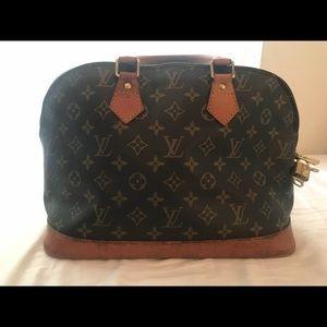 Authentic Vintage Louis Vuitton Alma